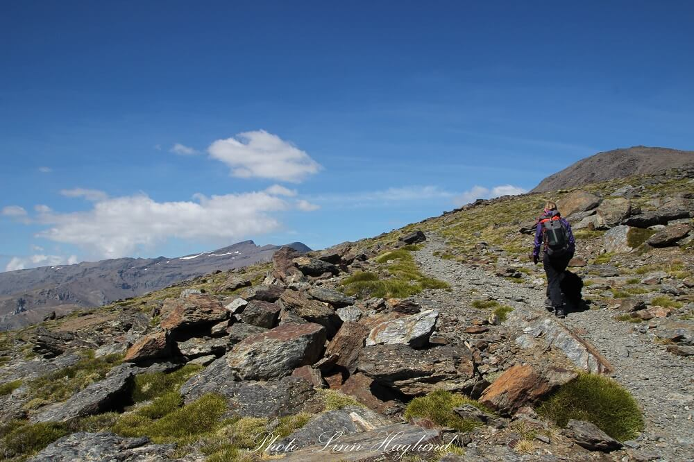 Me hiking to the top of Mulhacen