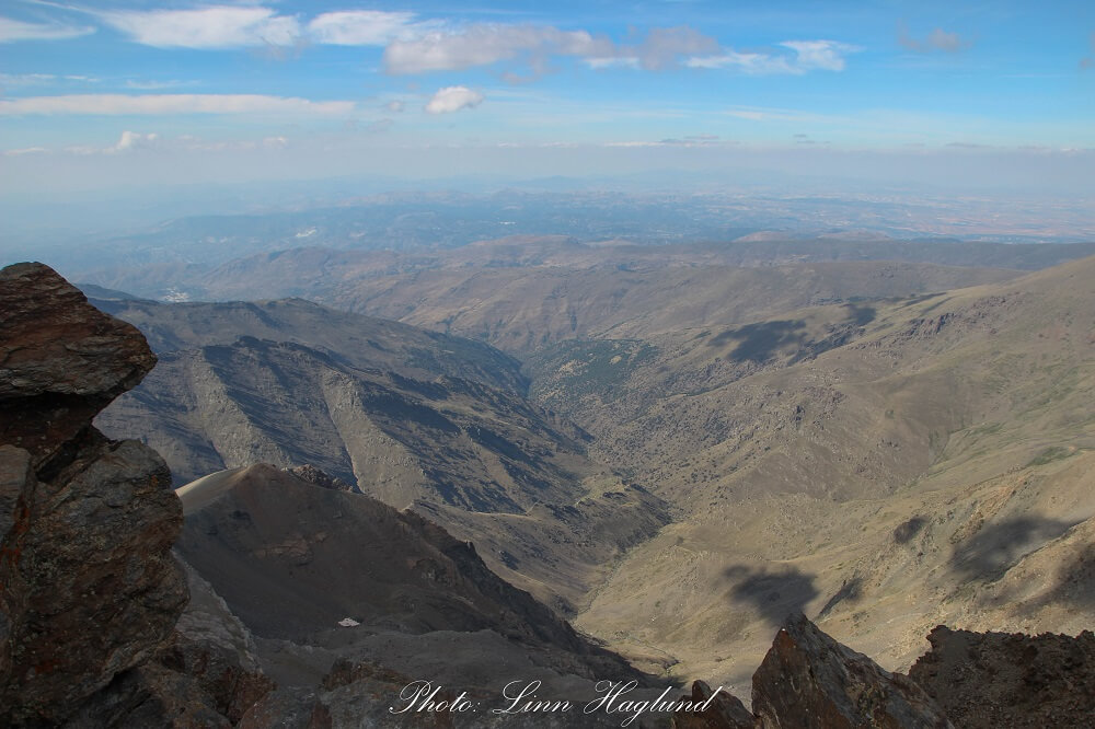 top view from Mulhacen