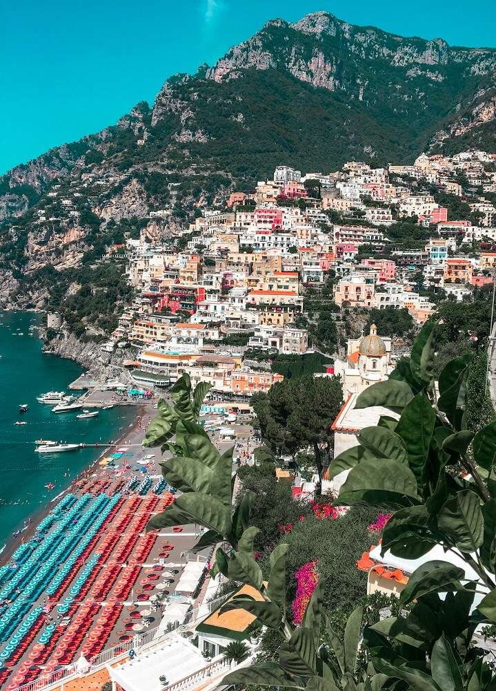 Positano is a must visit during 2 days in Amalfi Coast