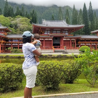 Byodo-In Temple in Oahu: Coritta Lewis - It's A Family Thing