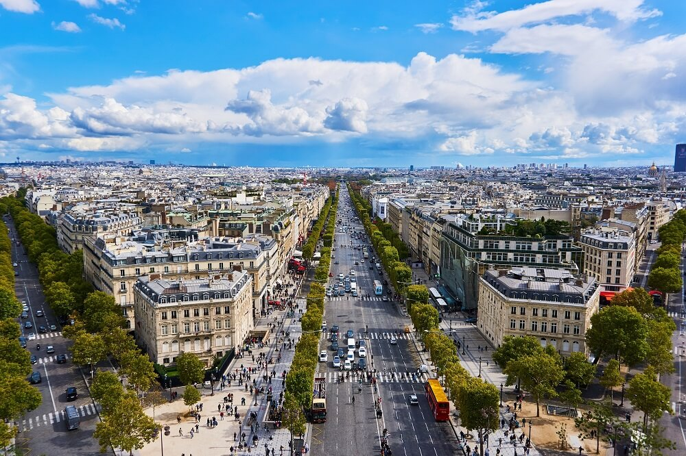 Champs-Elysées is a must on a 4 day Paris itinerary