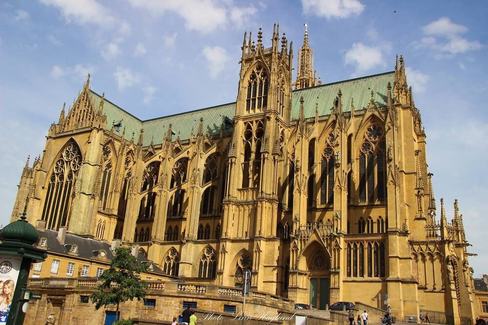 The astounding Metz cathedral