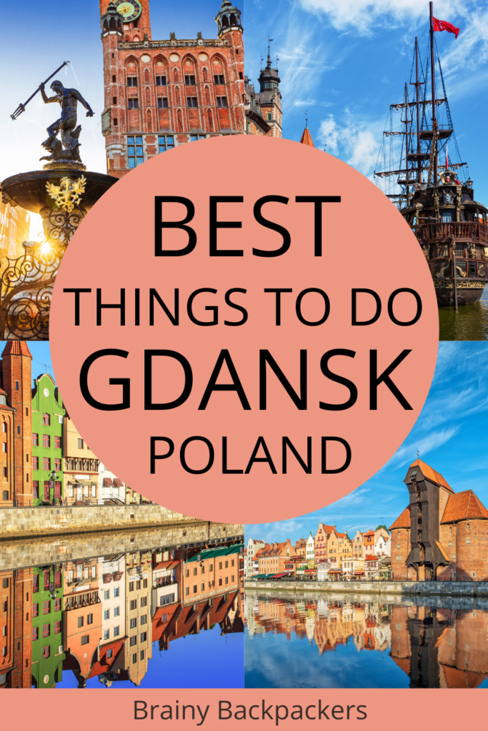 Are you planning a trip to Gdansk Poland? Here are the best things to do in Gdansk Poland. Explore the old town, learn about the history, visit the horrors of World War Two in a concentration camp, see the best beaches in Gdansk. #polandtravel #europetravel