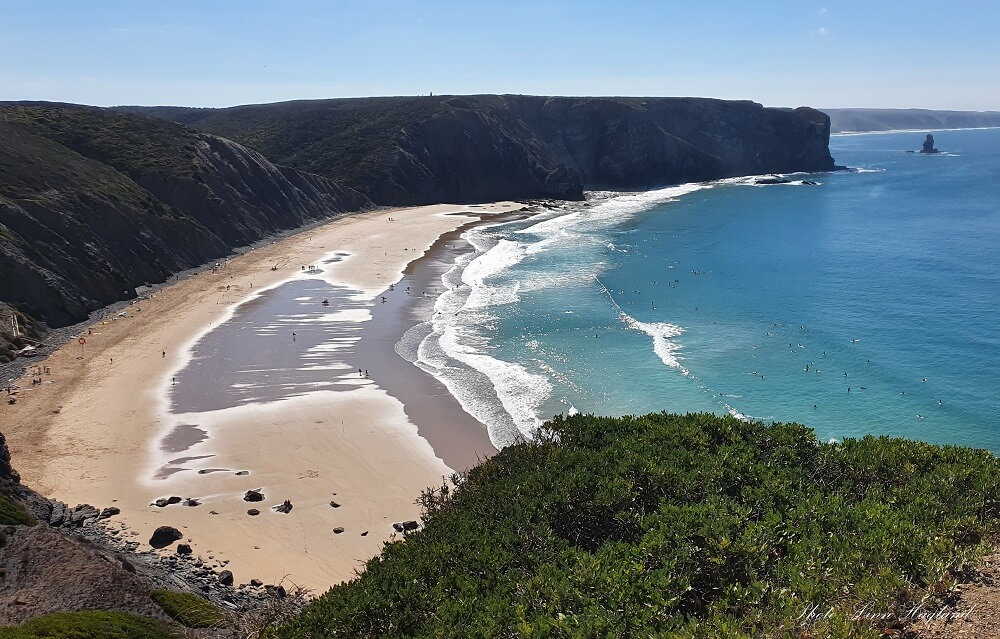 Arrifana beach is one of the most beautiful Algarve beaches