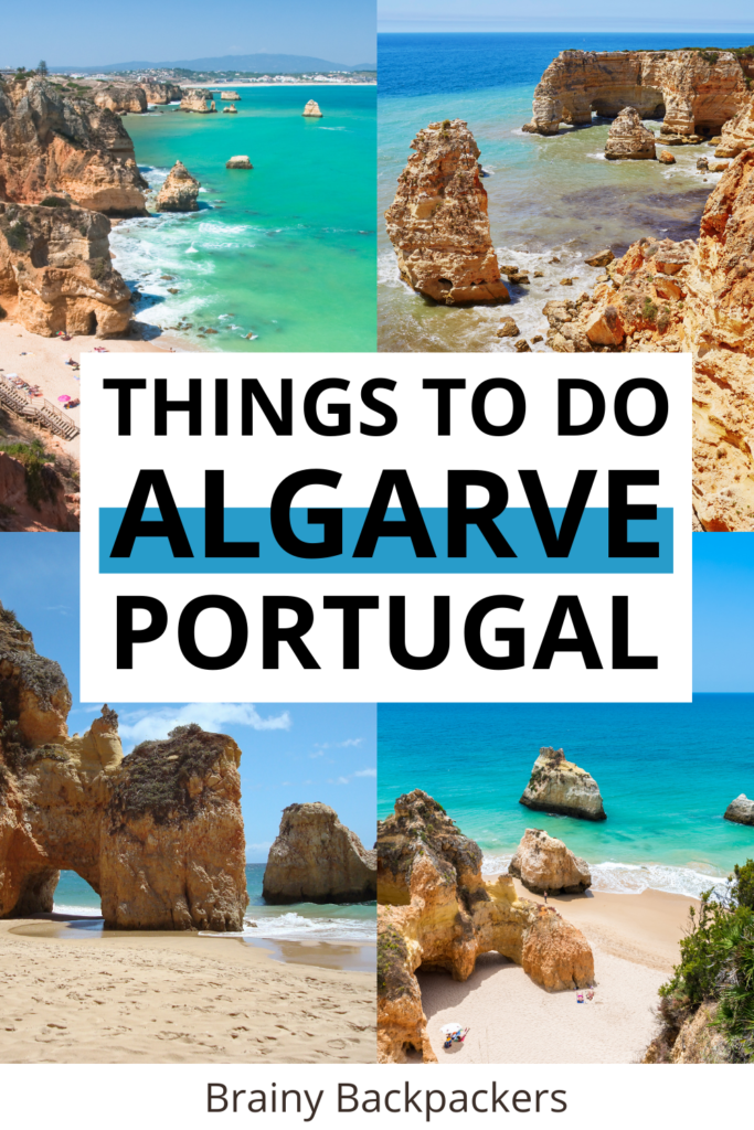 Planning a southern Portugal vacation? Here are the absolute best thigns to do in Algarve Portugal from the best Algarve beaches, cliff formations, and Algarve towns. find out how to spend your Algarve Portugal holiday for the perfect vacation!