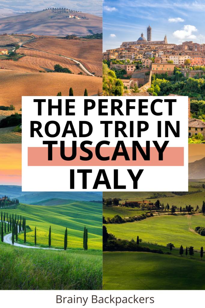Are you planning a trip to the beautiful region of Tuscany Italy? The best way to discover this wonderful part of Italy is by going on a road trip! Here is the perfect Tuscany road trip itinerary for your trip with all the information you need from driving in Tuscany, getting a rental car, and where to stay in each place.