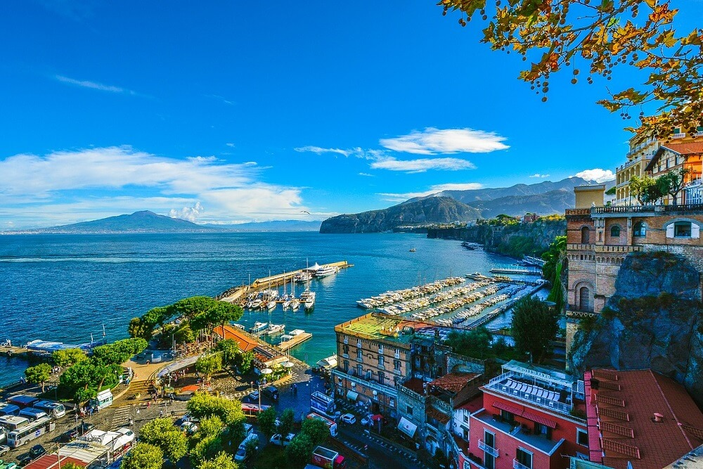 Vesuvius is one of the most majestic things to see in Amalfi Coast