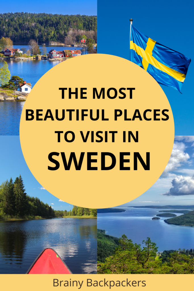 Planning your trip to Sweden but not sure where to go? Here are some of the most beautiful and cool places to visit in Sweden so you can make the most out of your trip to Eueope and Sweden travel adventure.