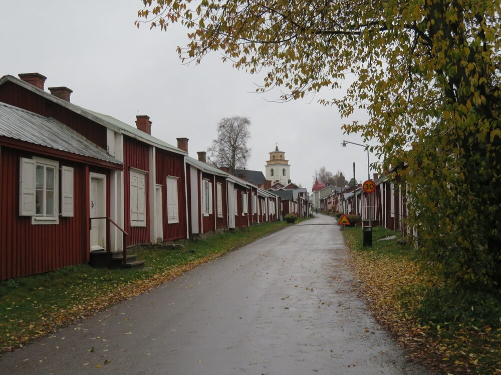 Best places to visit Sweden - Gammelstad church town