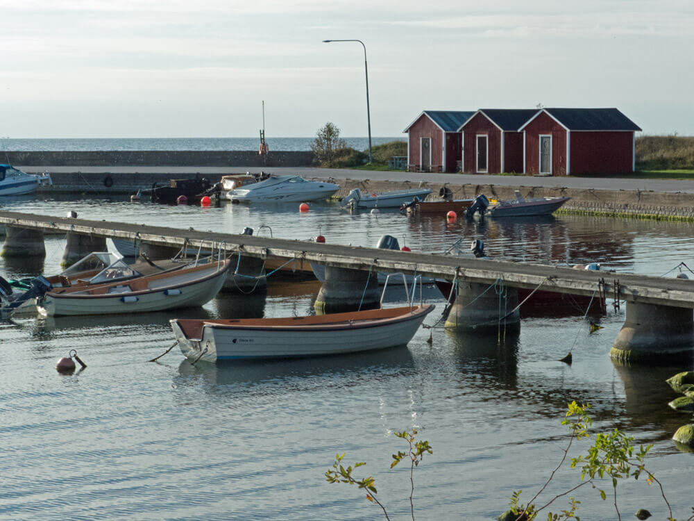 Fishing village in Gotland - beautiful places in Sweden