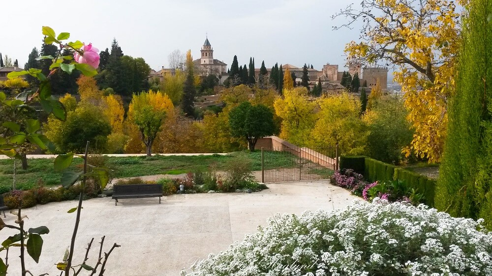Alhambra is a must stop on a south Spain road trip
