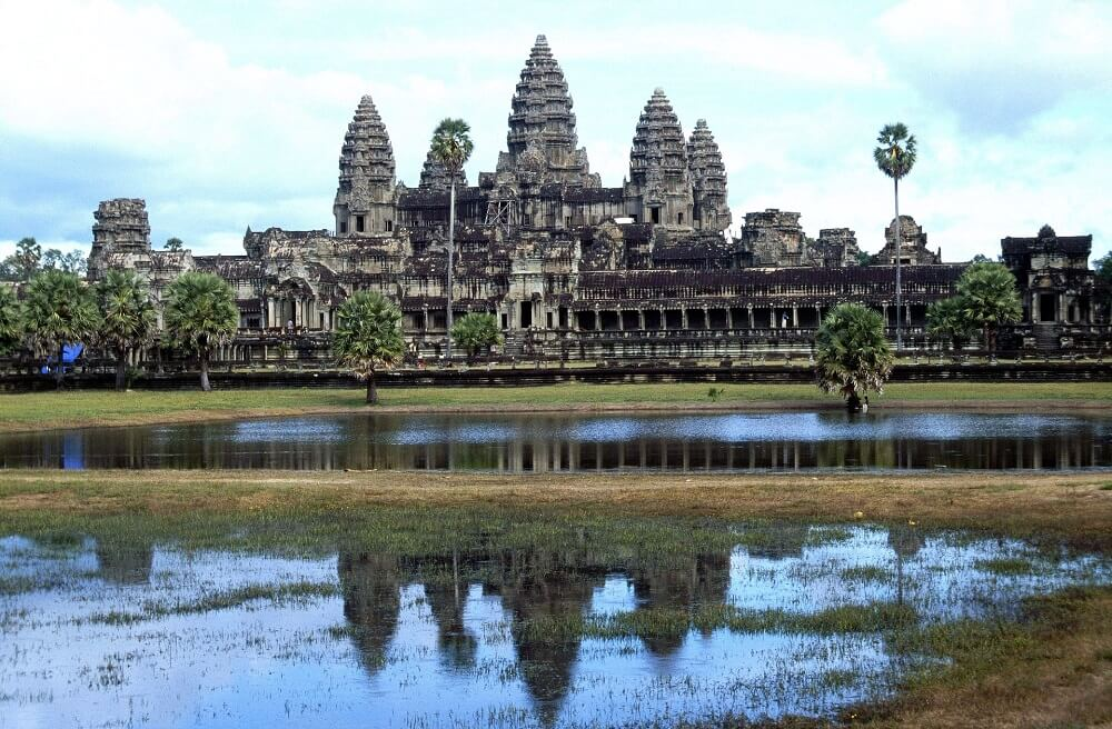 Angkor Wat is one of the most famous monuments in Asia
