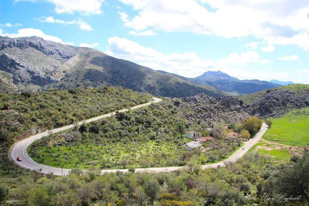 Driving in southern Spain