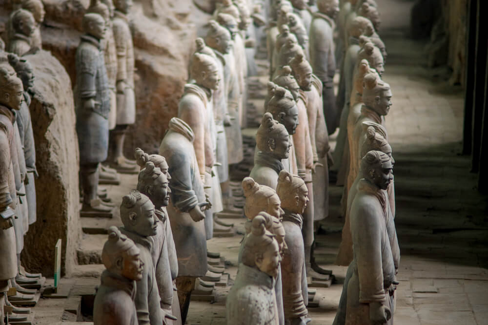 Famous landmarks of Asia - Terracotta Army