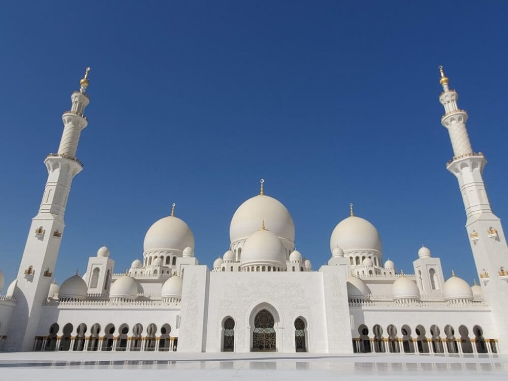 Monuments in Asia - Sheikh Zayed Grand Mosque