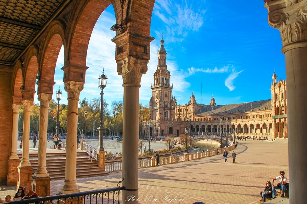 Seville on an Andalucia road trip itinerary