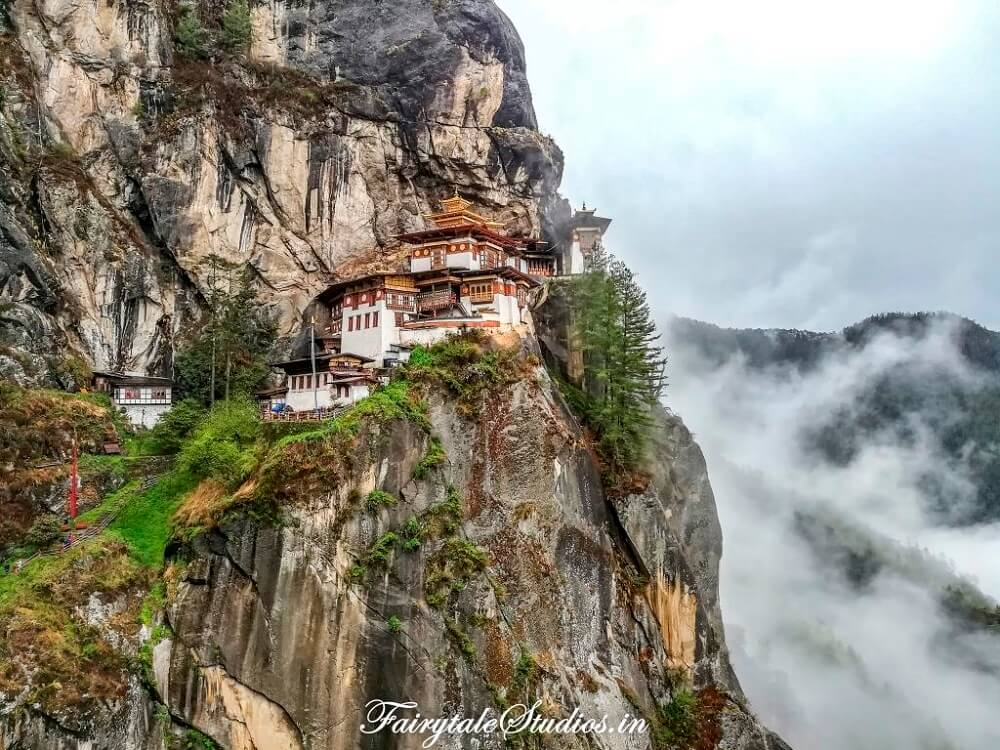 Tiger's Nest is one of the most famous buildings in Asia